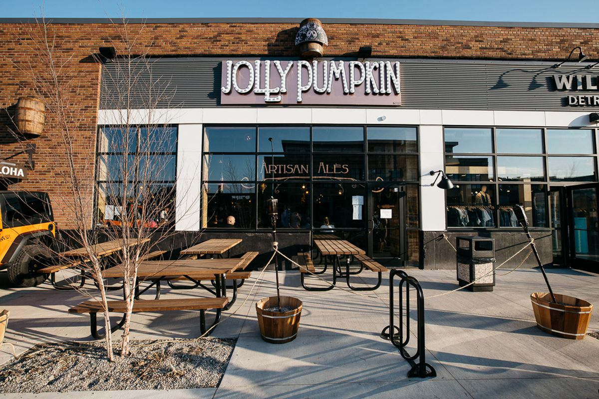 Jolly Pumpkin Pizzeria and Brewery in Detroit