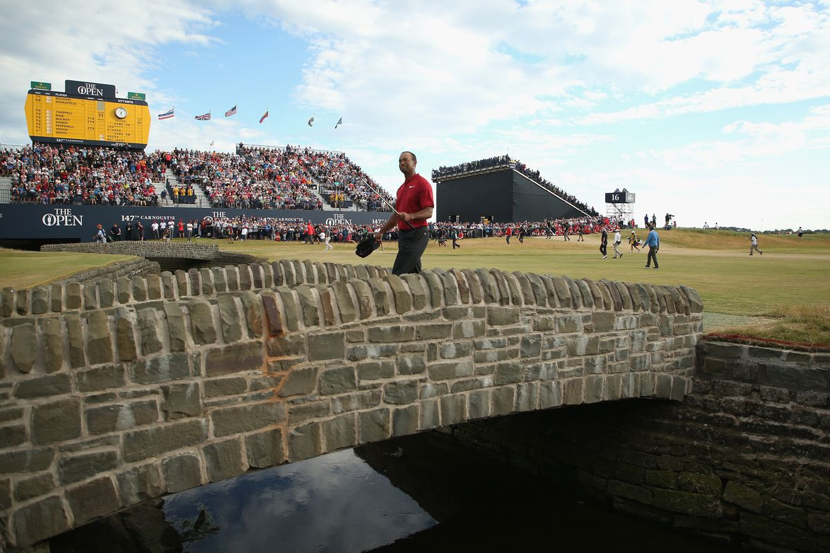 Tiger Woods did not win the British Open but his Sunday was a ...