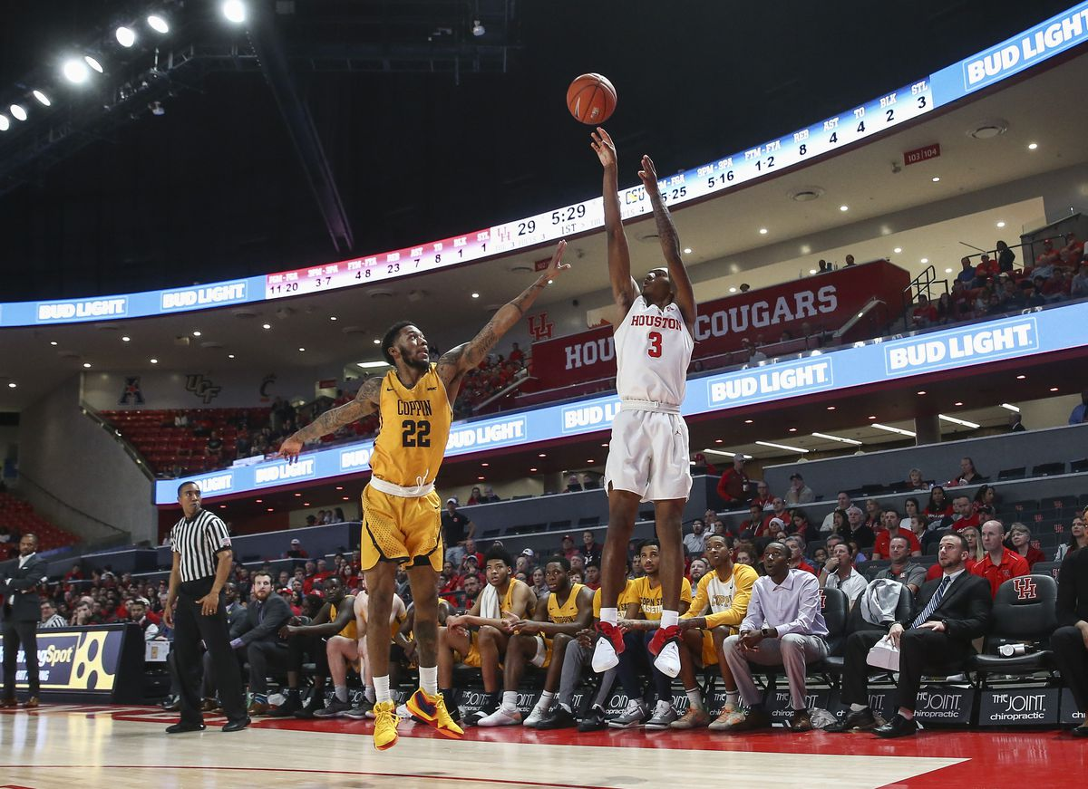 NCAA Basketball: Coppin State at Houston