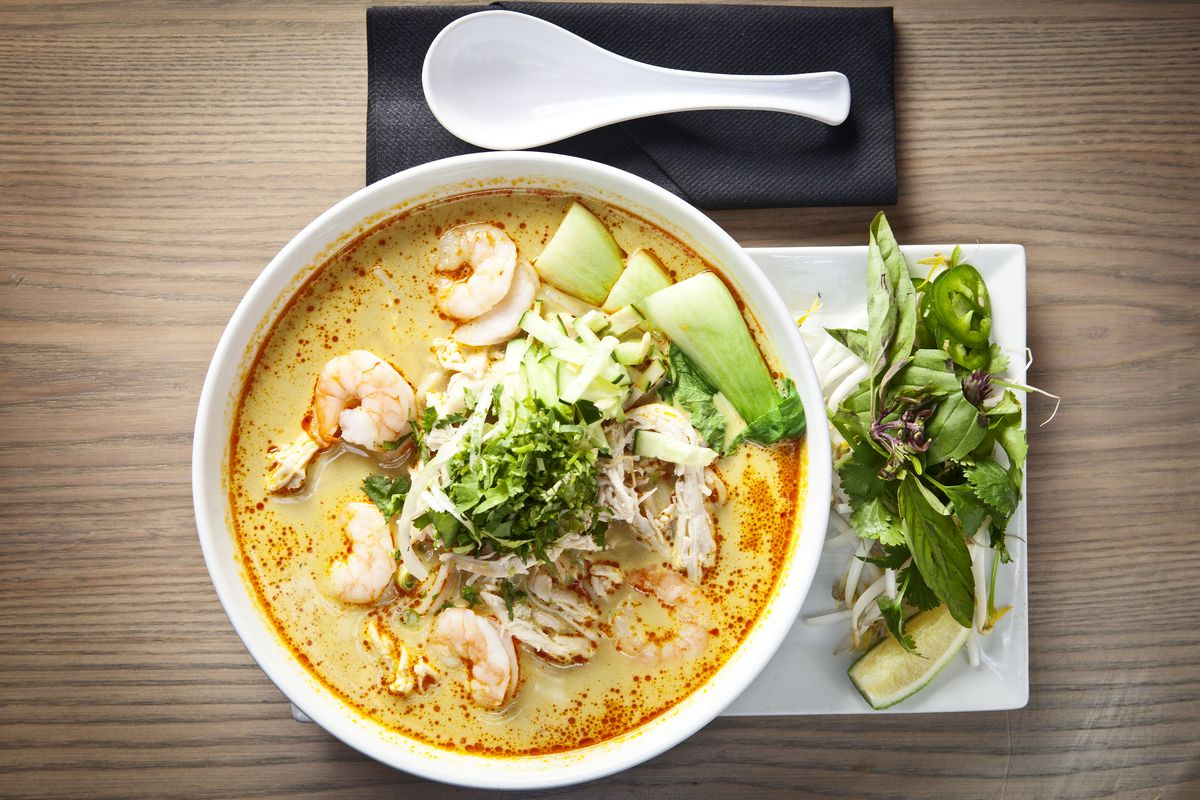 Co has landed with southeast asian fare in poncey highland for Aja east asia cuisine