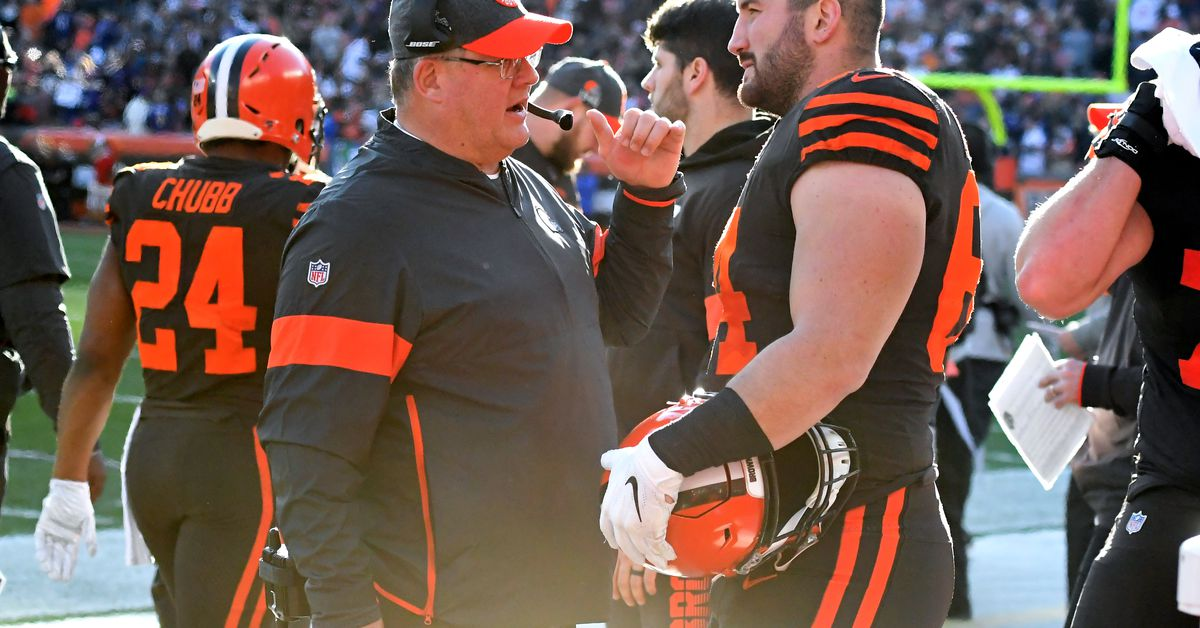Report: Browns not retaining OL coach James Campen
