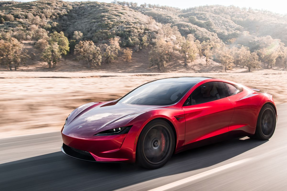 the tesla roadster will start at 200 000 the verge