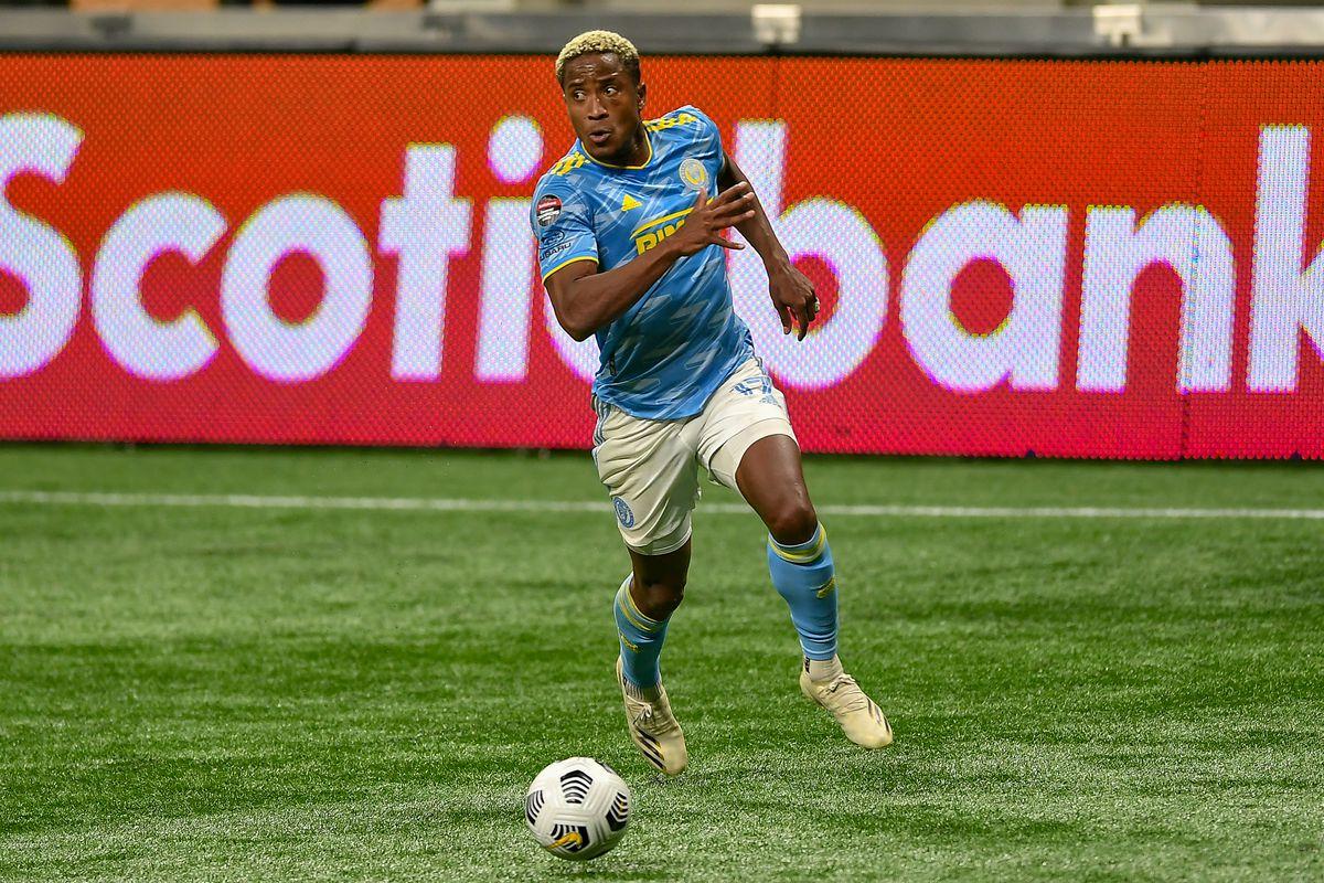 SOCCER: APR 27 CONCACAF Champions League - Philadelphia Union FC at Atlanta United FC