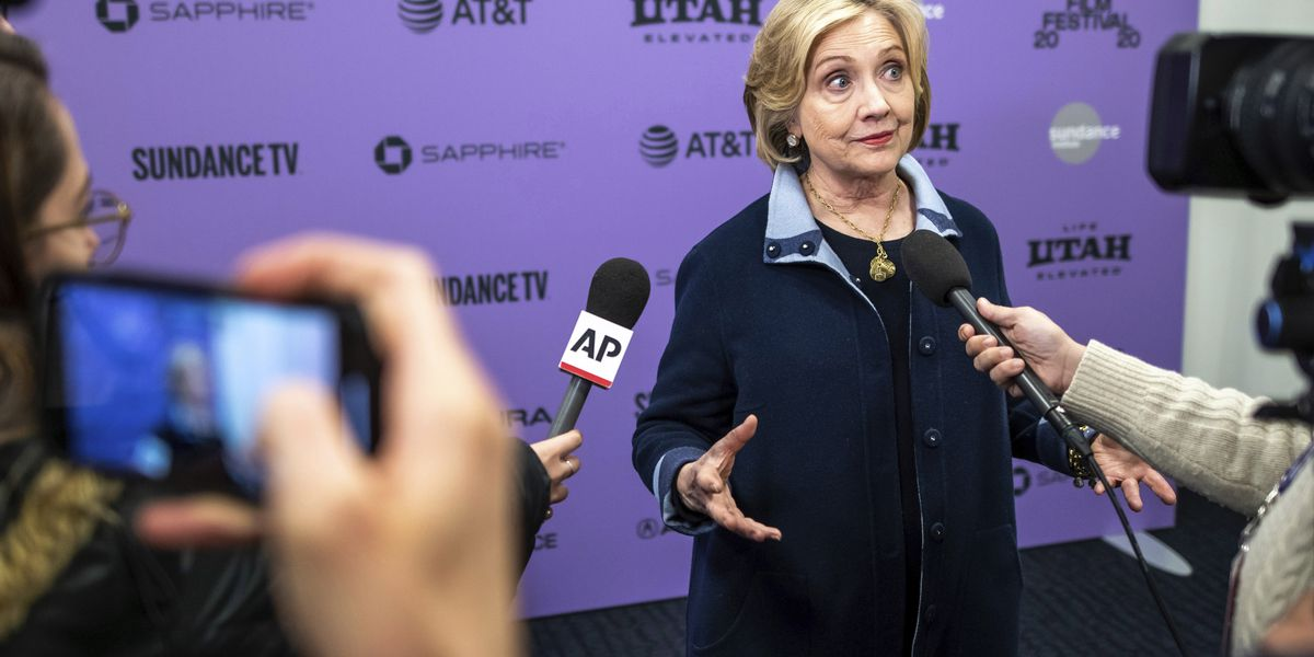 Hillary Clinton attends documentary premiere at Sundance, says 'once we have a nominee, close ranks'