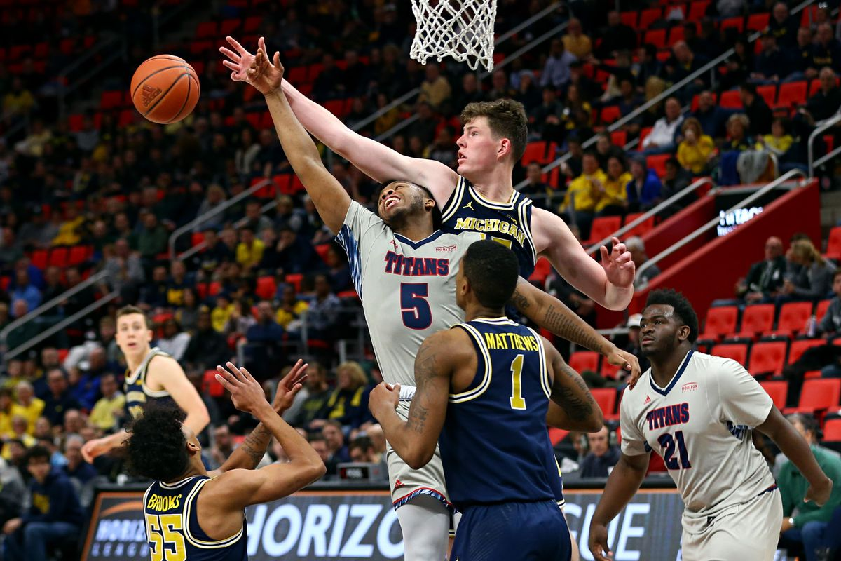 NCAA Basketball: Detroit at Michigan