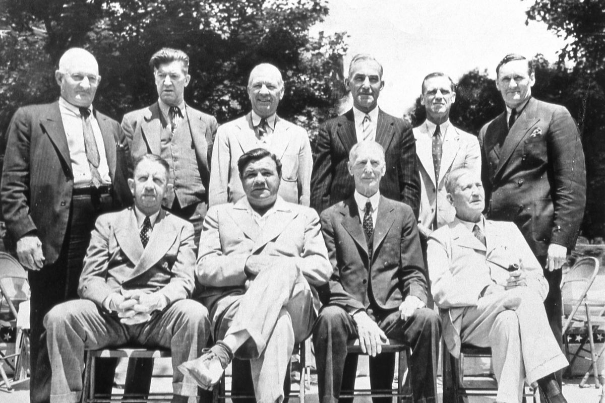 First Hall of Fame Induction Group 1939