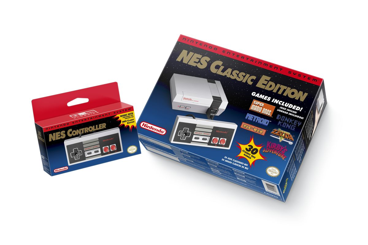 Nintendo S New Nes Classic Is An Excellent Deal The Verge