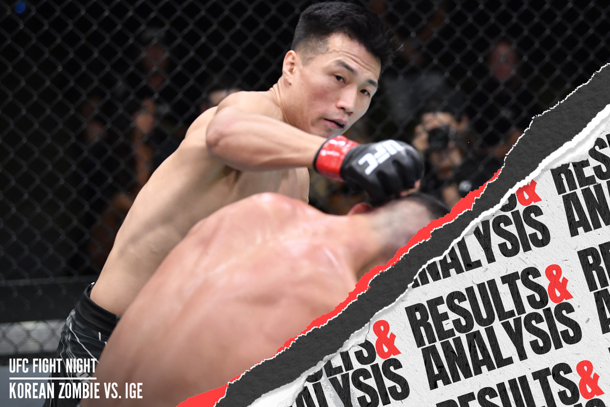 UFC Fight Night: The Korean Zombie v Dan Ige