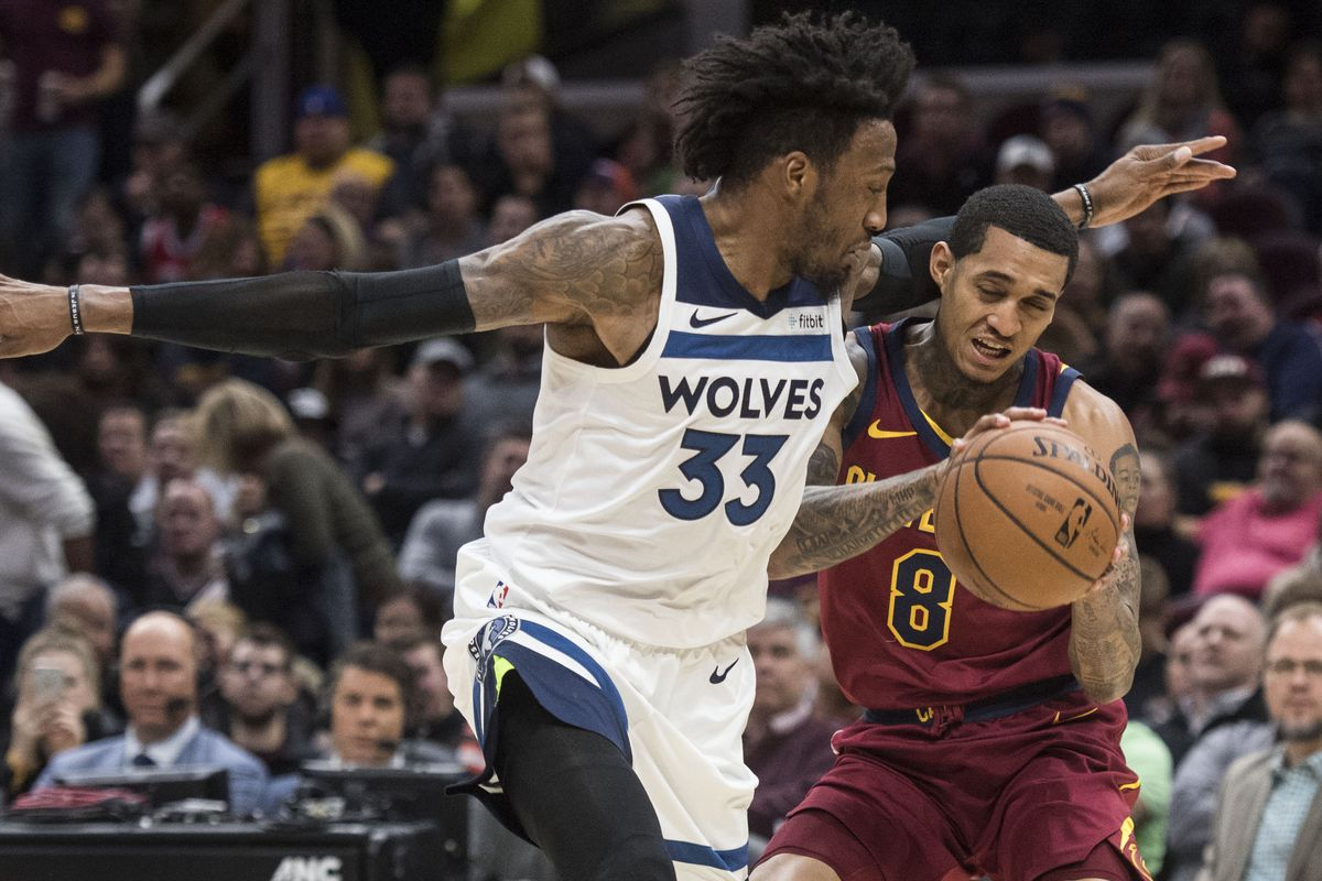 Wolves 102 Cavs 95  Wolves Down the Cavs - Canis Hoopus 29d2bf6f2