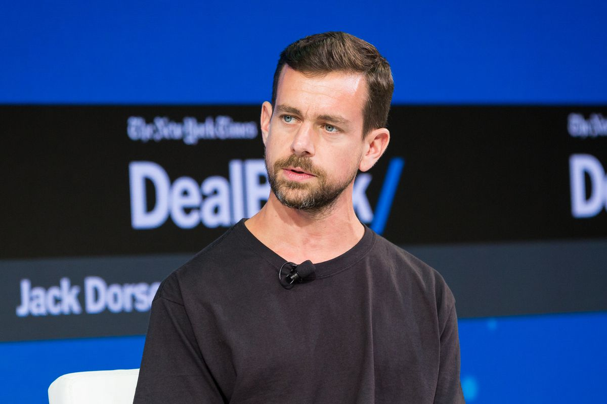 Twitter CEO Jack Dorsey at The New York Times 2017 DealBook Conference.