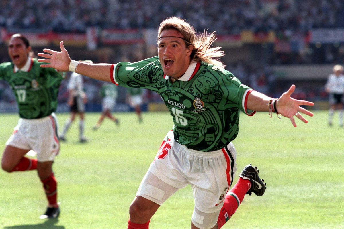 Soccer - World Cup France 98 - Second Round - Germany v Mexico