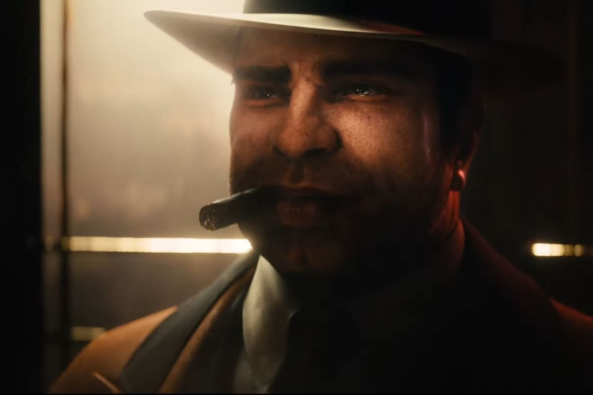 Al Capone chomps a big cigar in an early trailer for Empire of Sin.