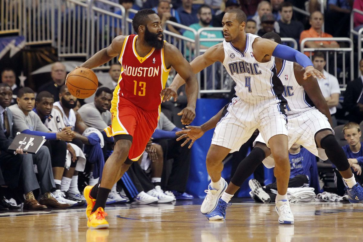 James Harden and Arron Afflalo