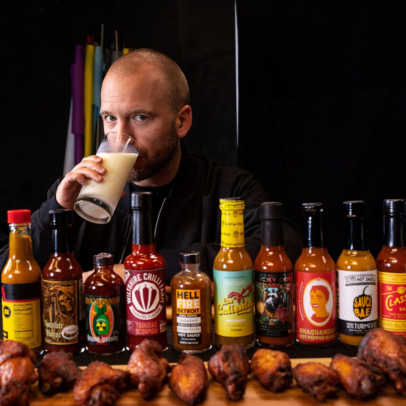 Inside Hot Ones The Wildly Popular And Violently Spicy Youtube Show The Verge