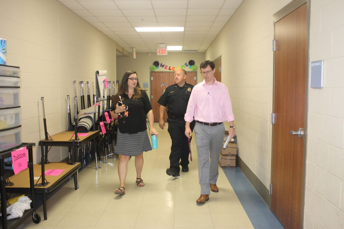 On-site security reviews are being conducted in schools statewide this summer under an order from Gov. Bill Haslam.