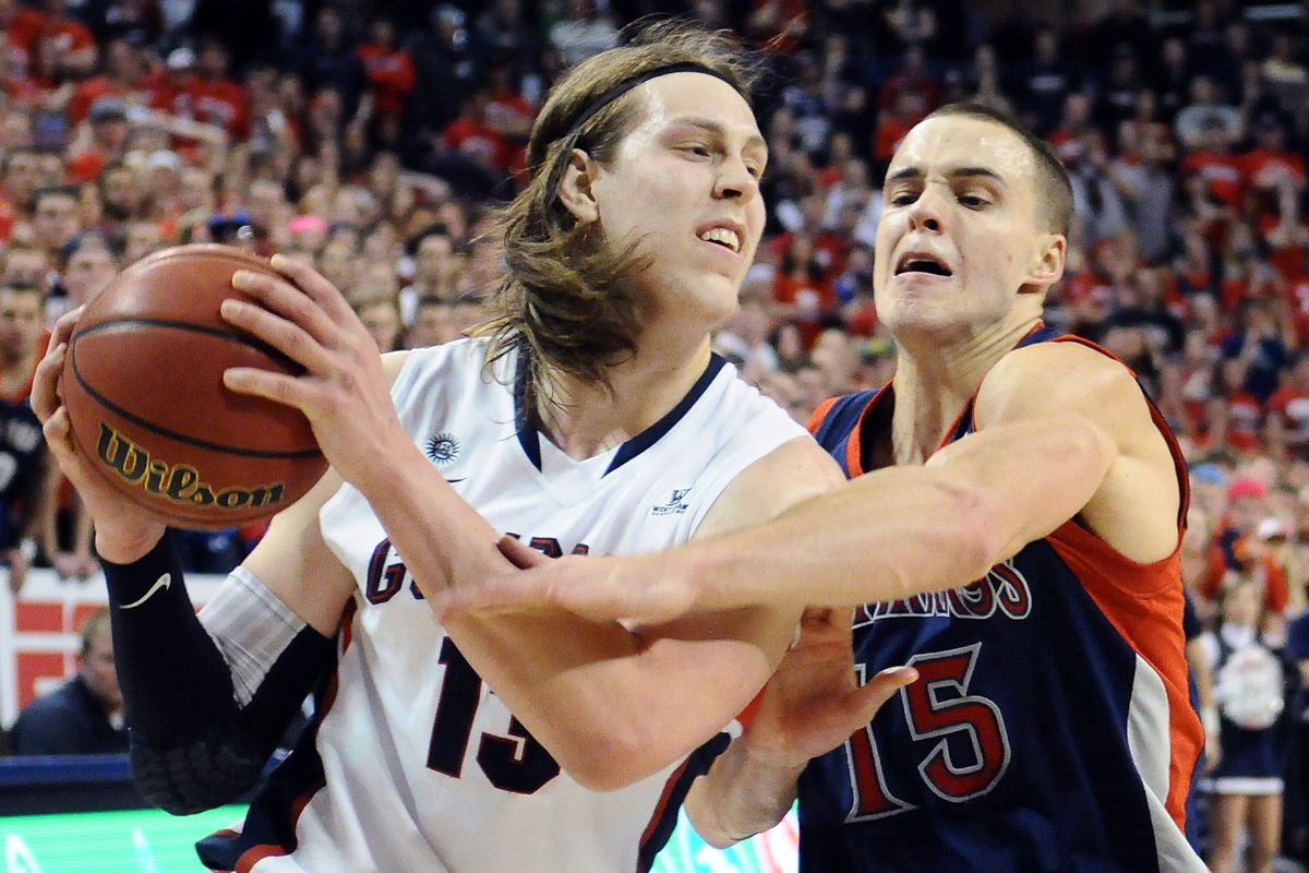 Yes, the man with the headband might be the most dominant player in the West Coast Conference.