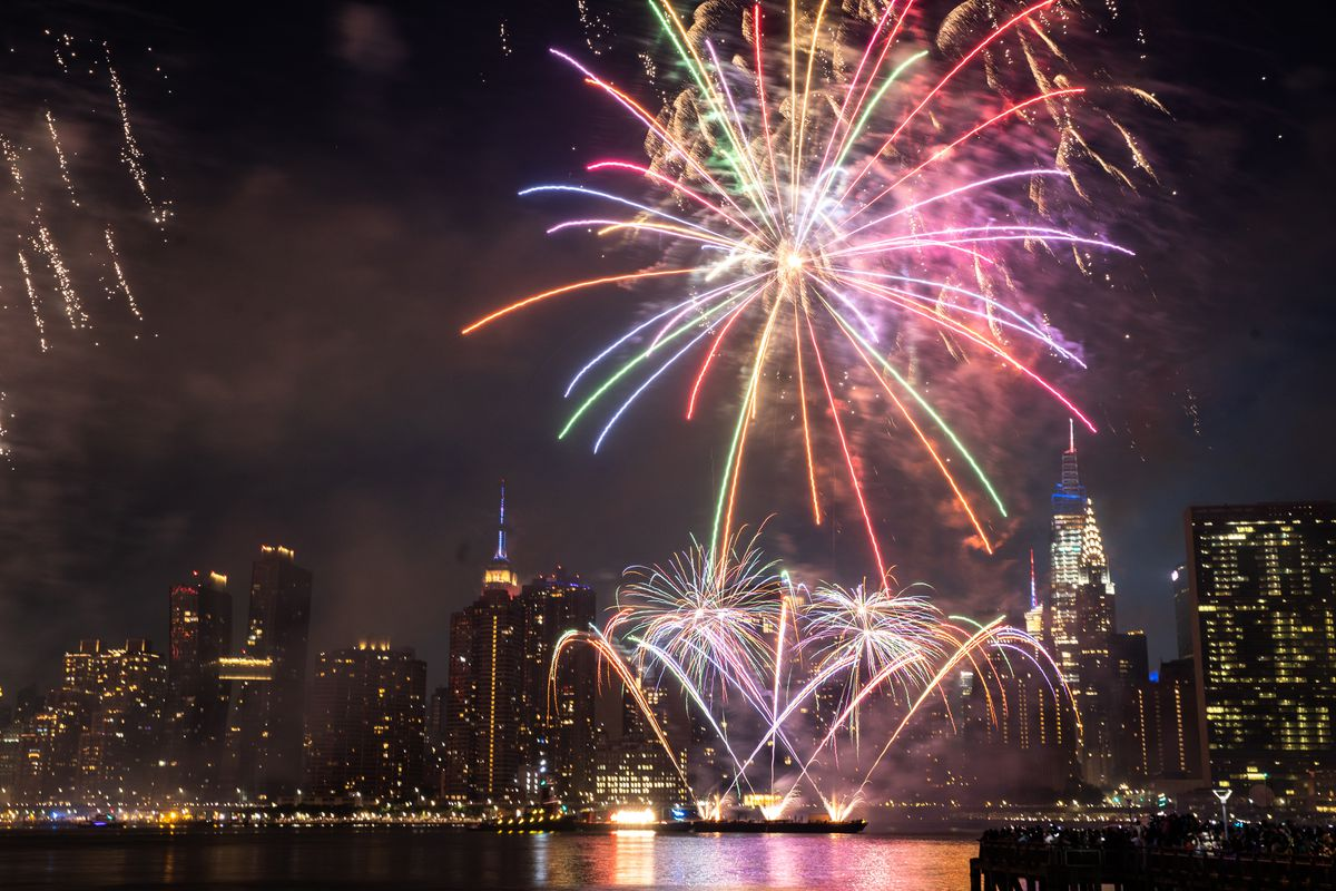 Macy's July 4th Fireworks Celebration Returns After Covid-19 Scaled-Back Festivities