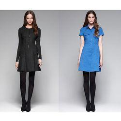 "<a href=""http://www.theory.com/zipper-dress/C0724621,default,pd.html?dwvar_C0724621_color=001&start=35&cgid=womens-just-in""><b>Theory</b> Olethea Herringbone Dress</a> $285 and <a href=""http://www.theory.com/shirt-dress/C0704616,default,pd.html?dwvar_C070"