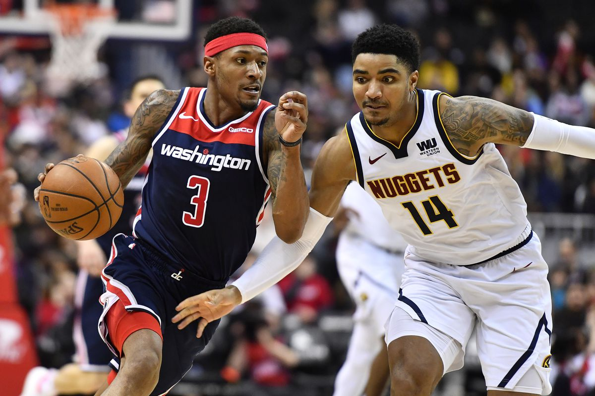 Image result for wizards vs nuggets