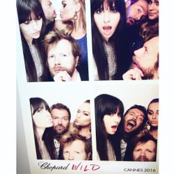 At the Chopard Wild party!