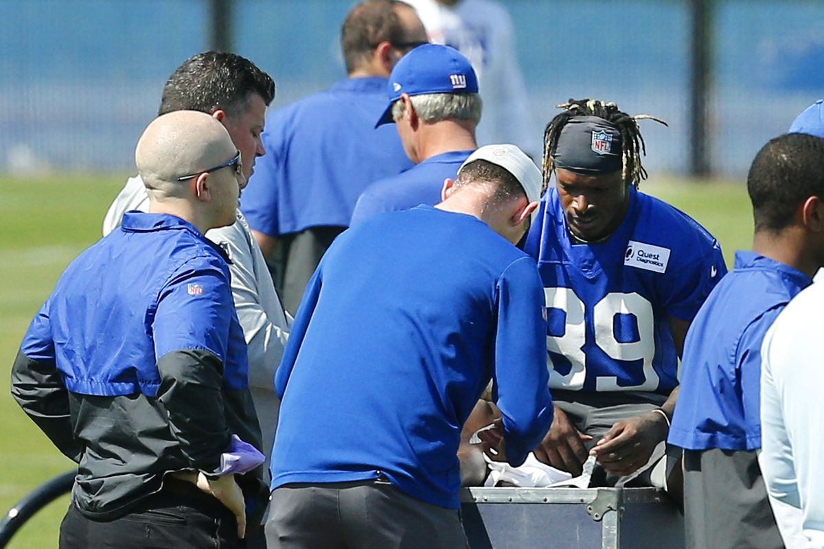 NFL: New York Giants Rookie Minicamp