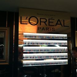 L'Oreal polish paradise at the HBO Luxury Lounge at the Four Seasons Beverly Hills