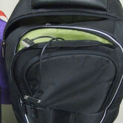 Powering backpack for iPad and iPhone, $250