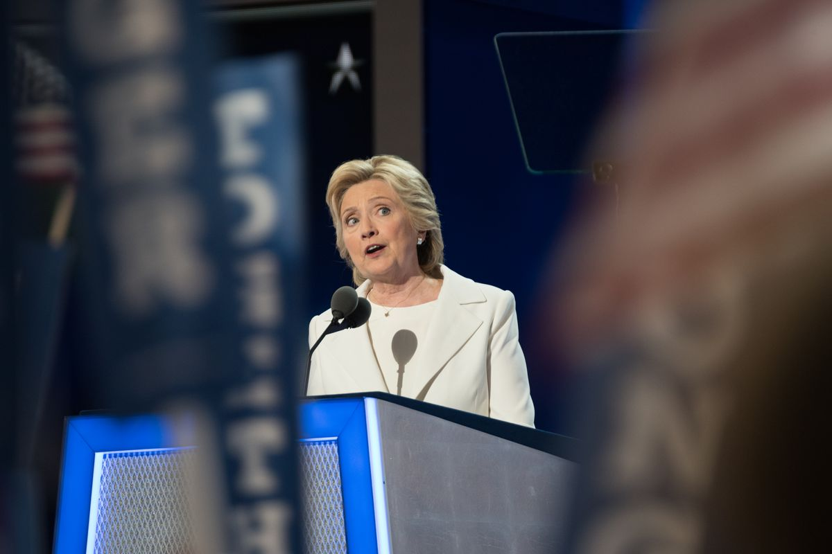 Hillary Clinton Accepts the Democratic Party Presidential Nomination