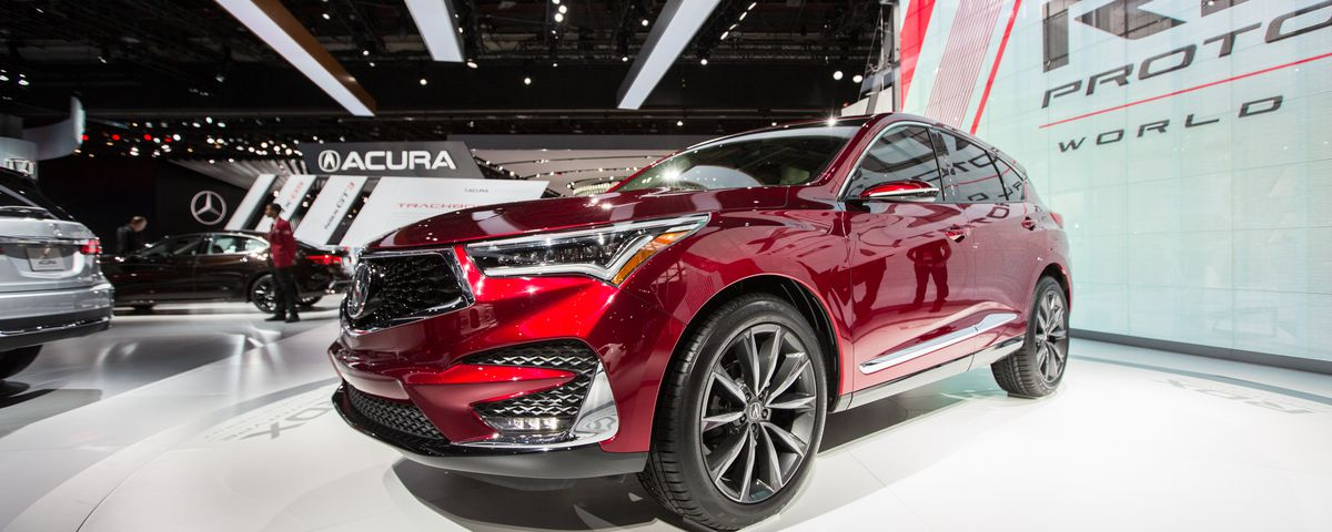 Acura Hides A Slick Android Based Interface In Yet Another Suv The Verge