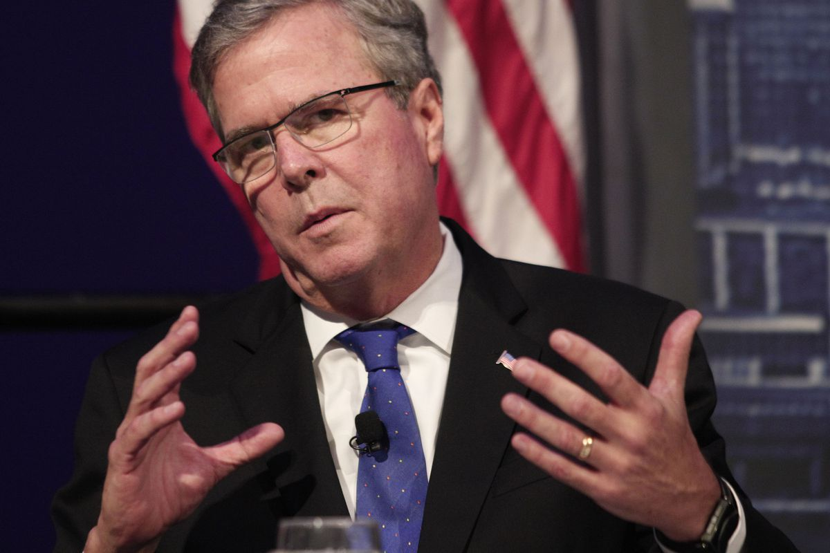 Jeb Bush Quotes On Foreign Policy Jeb Bush Sounds Like His Brothersmart Play Vox