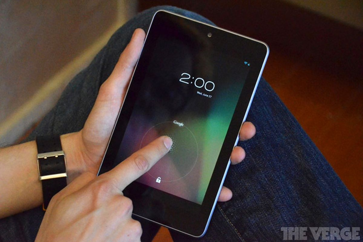 Nexus 7 unlock