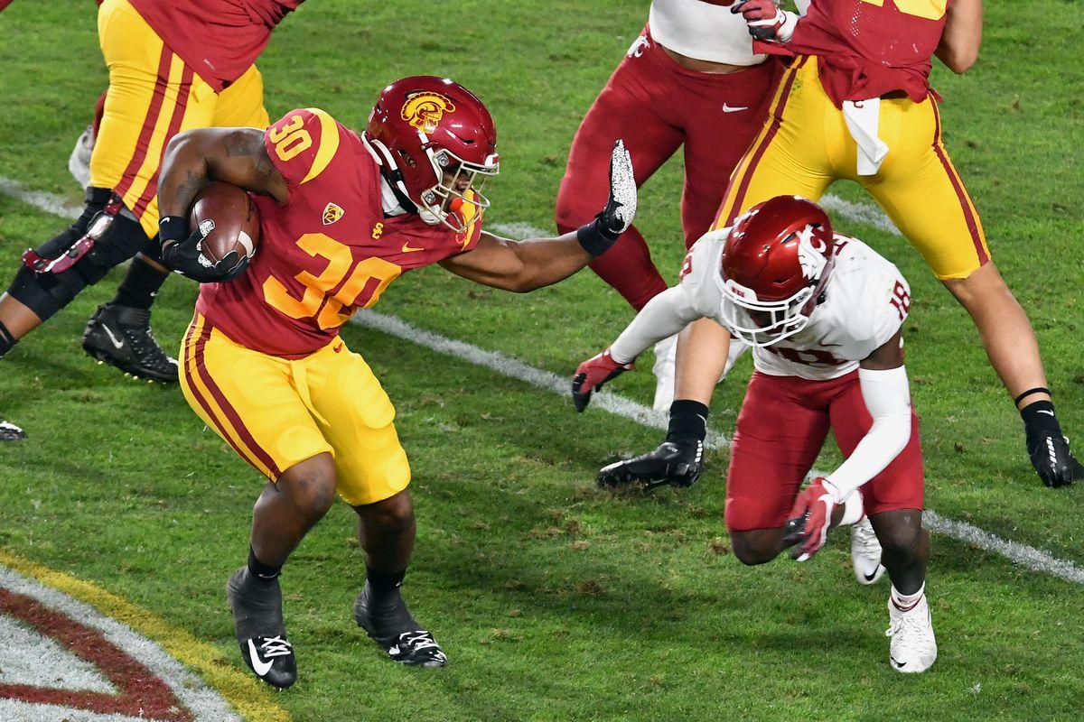 COLLEGE FOOTBALL: DEC 06 Washington State at USC