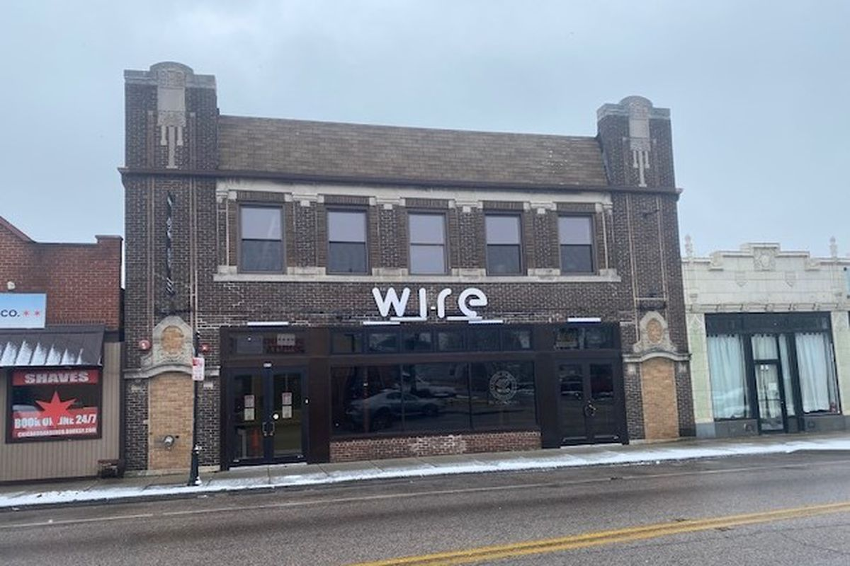 Wire, the closed music venue at 6815 W. Roosevelt Road in Berwyn, is on the market.