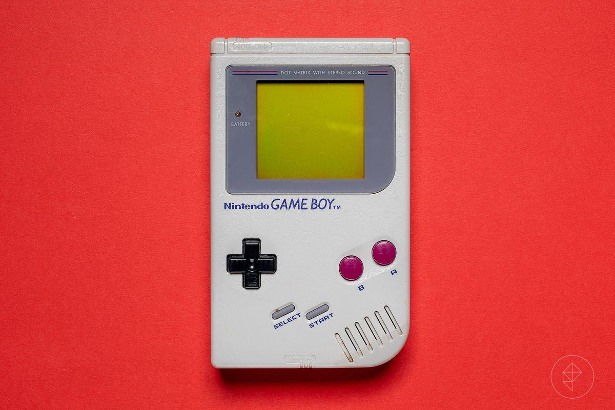 Photo of an original Game Boy