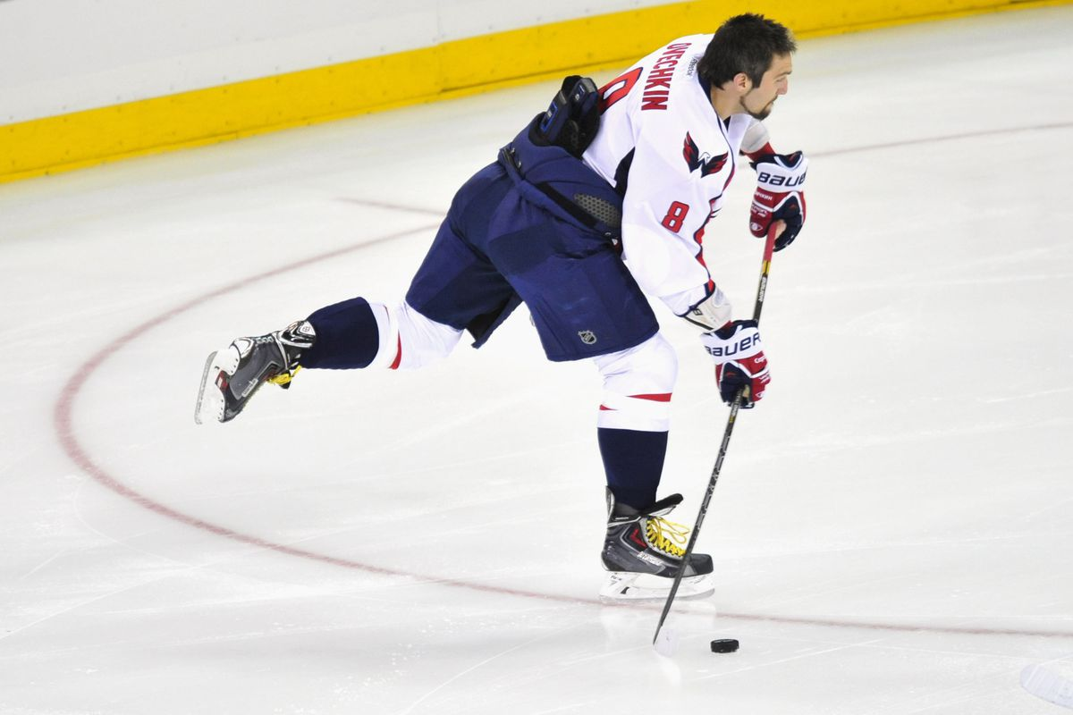 The KHL is an inferior league, and Alexander Ovechkin . . . well, kinda KNOWS that.