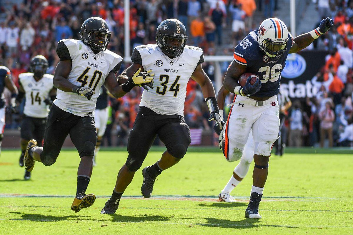 NCAA Football: Vanderbilt at Auburn