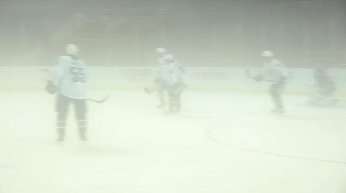 白雾在中国下降