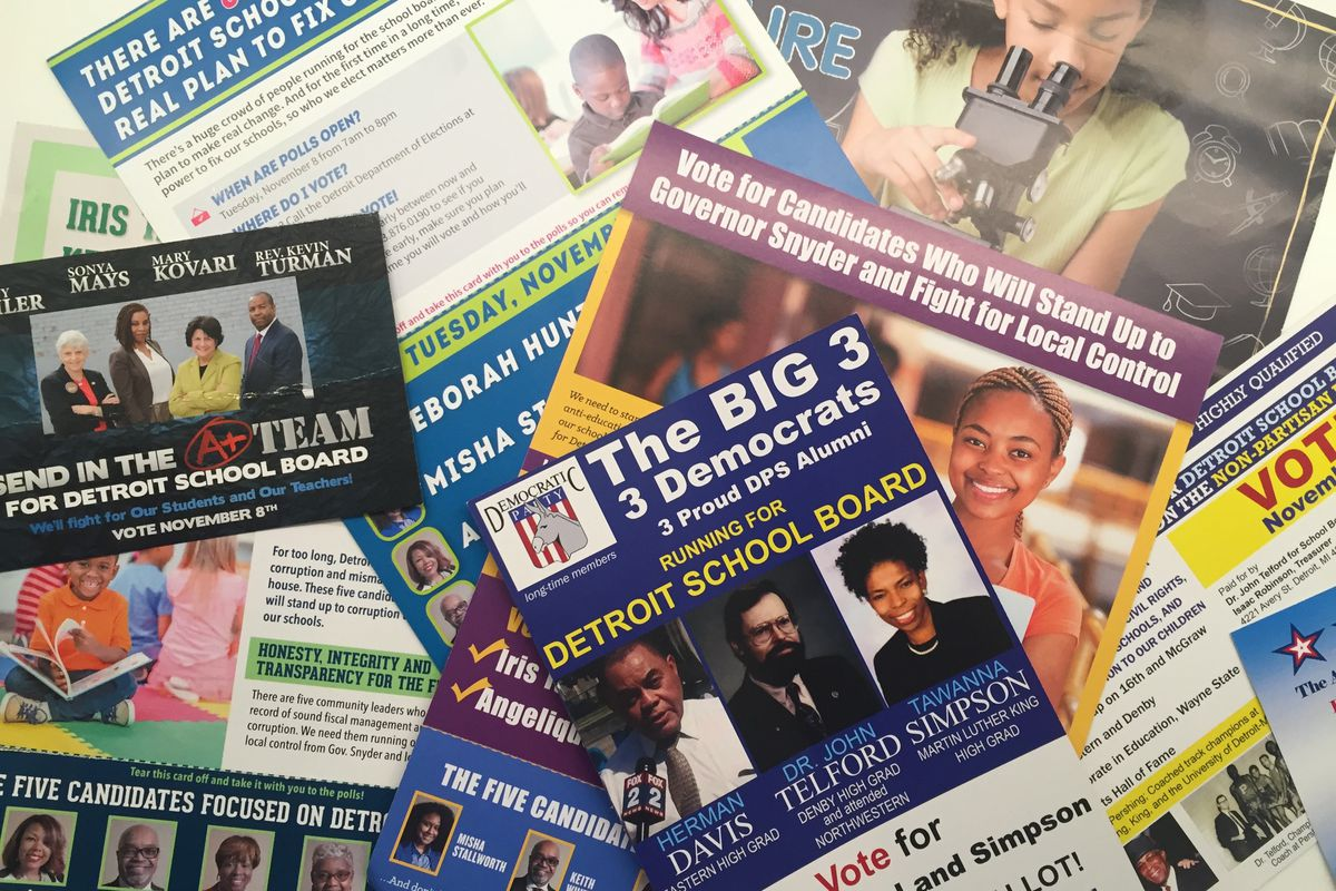 A total of 63 candidates ran for the first board of the new Detroit Public Schools Community District.
