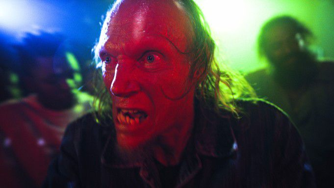 The alien-possessed drifter Barry in Fried Barry.