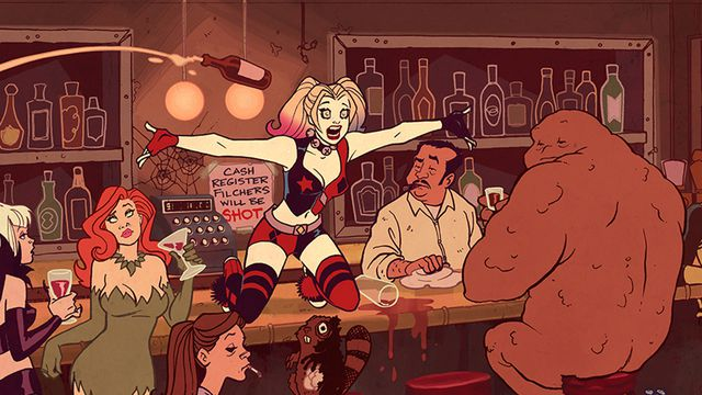 From <em>Harley Quinn</em>, a new adult animated series from DC Entertainment.