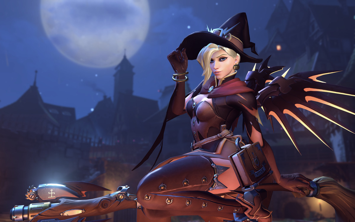 Witch Mercy IS pretty fetching, though.