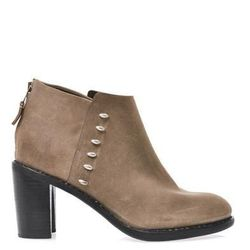"""<a href=""""http://www.matchesfashion.com/product/163604"""">Ayle waxed suede ankle boots by Rag & Bone</a>, $209.00 (were $655)"""