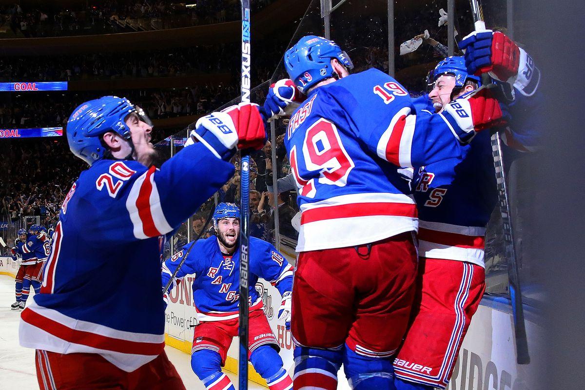 Washington Capitals v New York Rangers - Game Seven