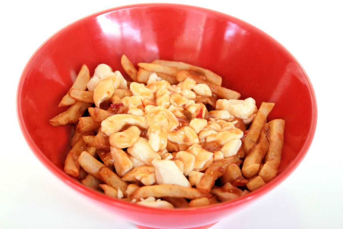 First rule of Poutine U - lose the big red bowl