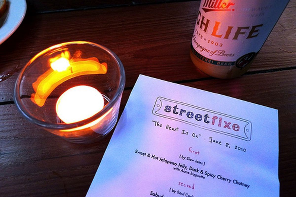 Tuesday's StreetFixe @ Stable Cafe.