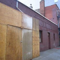 "Houston Hall at 222 W. Houston St. [<a href=""http://www.dnainfo.com/new-york/20120816/greenwich-village/heartland-brewery-owner-open-west-village-restaurant"">DNAinfo</a>]"