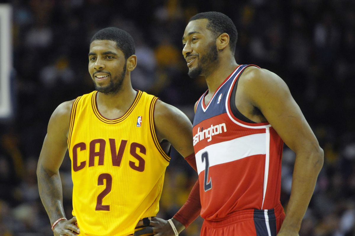 Report: Kyrie Irving and John Wall battling for one roster spot on Team USA for FIBA World Cup ...