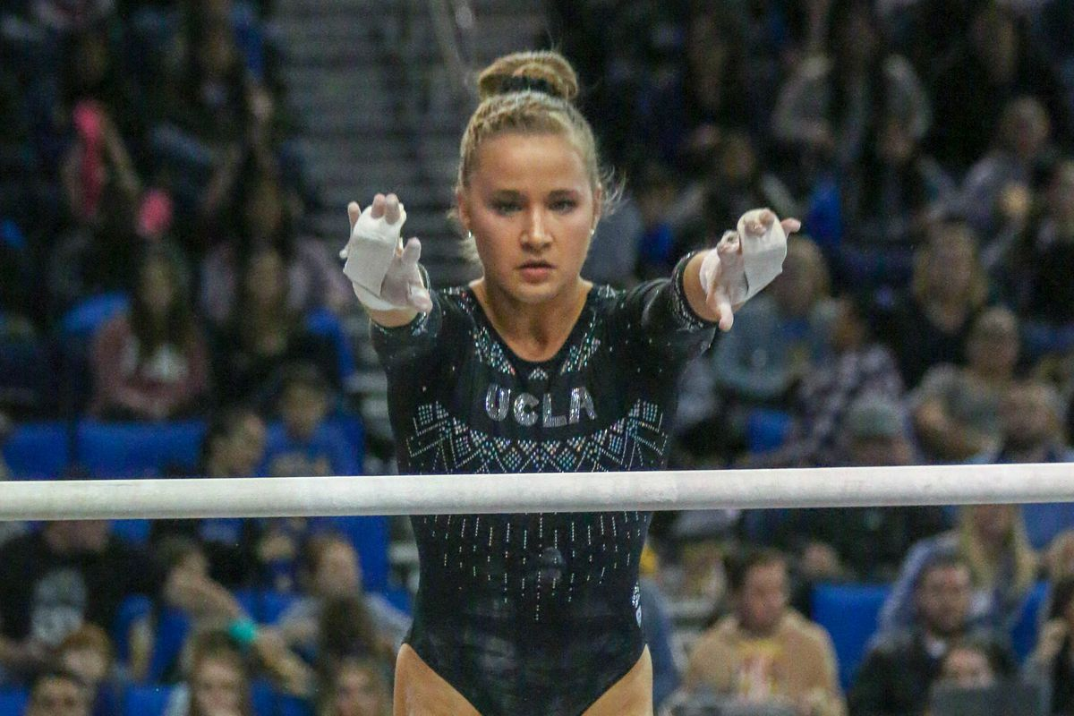 2 UCLA Gymnastics Heads North to Face #21 Stanford - Bruins