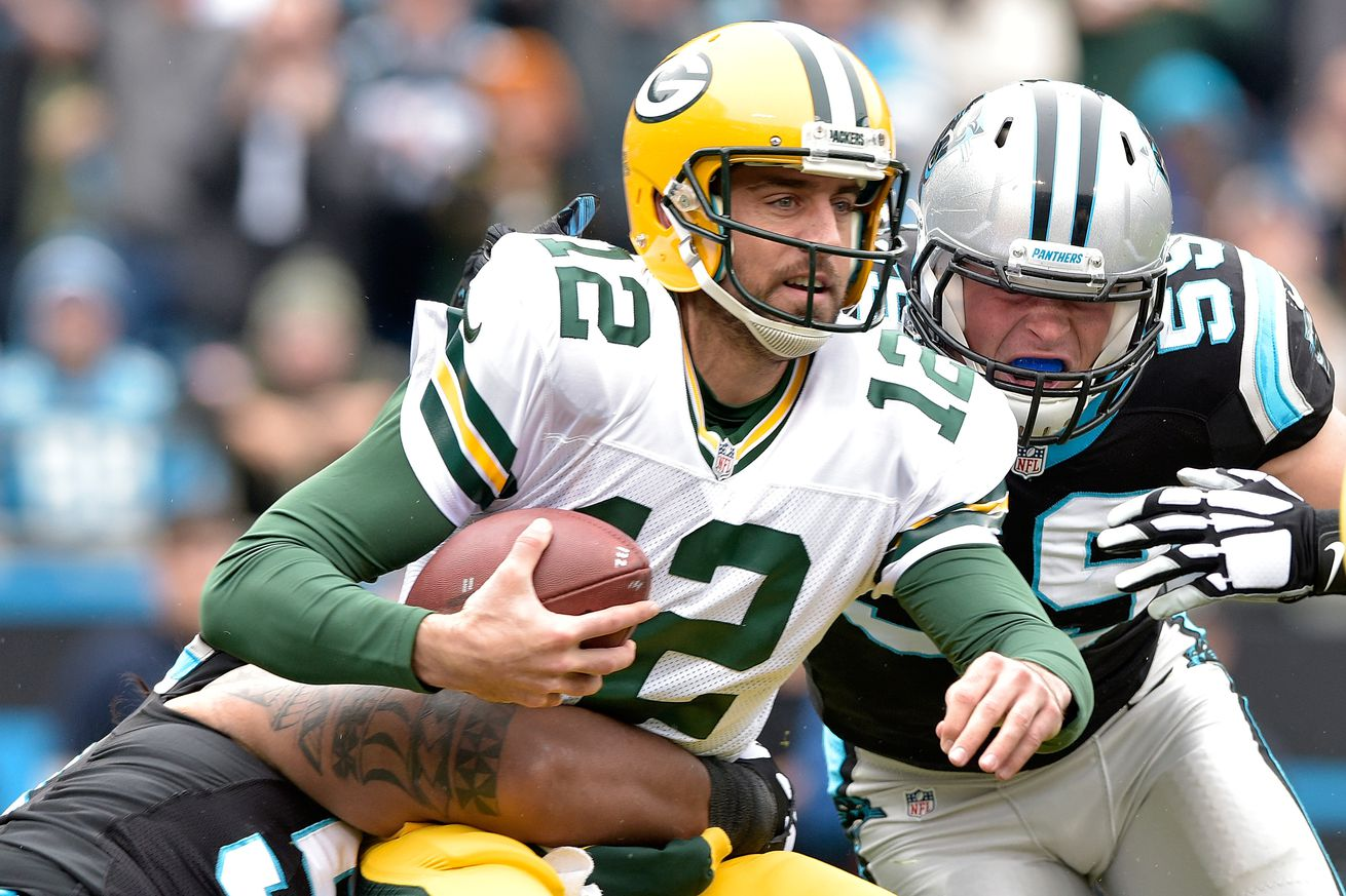 Green Bay Packers v Carolina Panthers