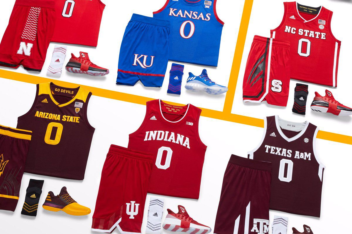 the best attitude 8bb76 7cd12 Adidas unveils new Indiana basketball uniforms for Big Ten ...